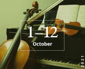 比赛将于2021年10月1日至12日举行